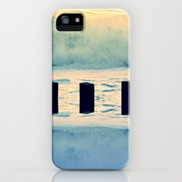 Surf breaker iPhone Case