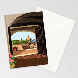 La Fortaleza, Old San Juan, Puerto Rico Stationery Cards