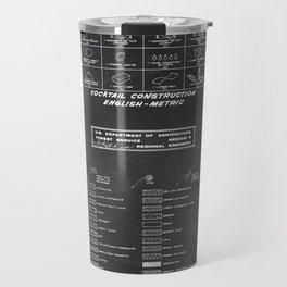 COCKTAIL print Travel Mug