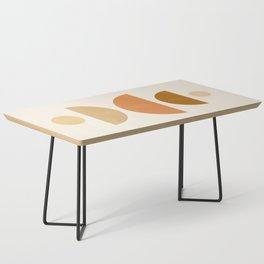 Abstraction_Geometric_Shape_Moon_Sun_Minimalism_001D Coffee Table
