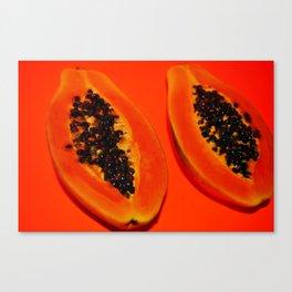 Papayas Canvas Print