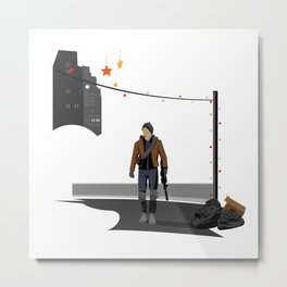 The Division Agent Metal Print