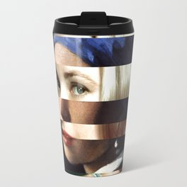 "Vermeer's ""Girl with a Pearl Earring"" & Grace Kelly Travel Mug"