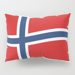 Norway flag Pillow Sham