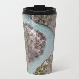 Blue French river Travel Mug