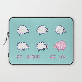 Be unique be you Laptop Sleeve