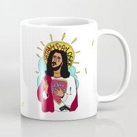jesus Mugs featuring Jesus by Maxim Pavlyuk