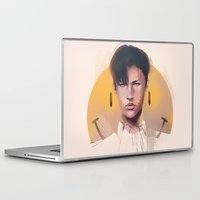 snk Laptop & iPad Skins featuring Smile by emametlo
