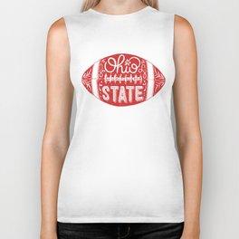 Ohio State Football Biker Tank