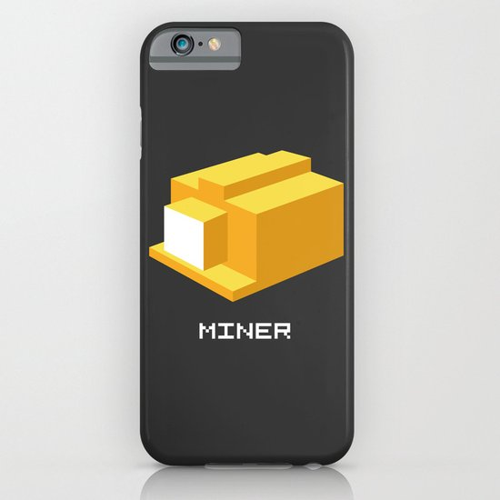 Miner iPhone & iPod Case
