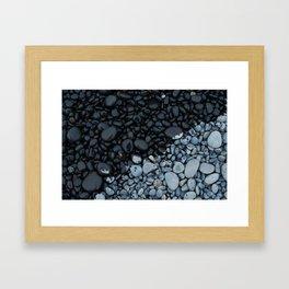 Coastal Rocks Framed Art Print