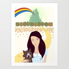 The Wonderful Wizard Of Oz Art Print