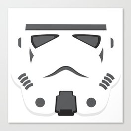 Storm Trooper - Starwars Canvas Print