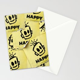 The Happy Sticker Stationery Cards