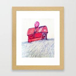 Stable Framed Art Print