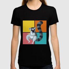 Lemur Colorful T-shirt