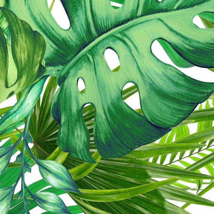 green tropic Leggings