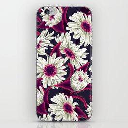 Teteaweka Daisy Floral Print (Night) iPhone Skin