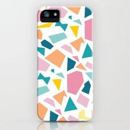 Jumpy -- abstract geometric preppy pastel bright pattern modern minimalist iPhone Case