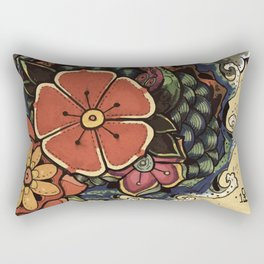 the seven seas Rectangular Pillow