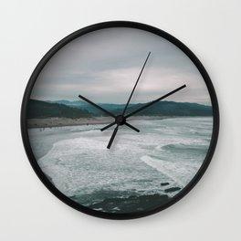 Cape Kiwanda III Wall Clock