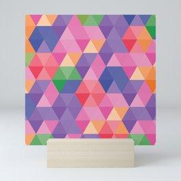 Triangles Mini Art Print