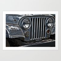 jeep Art Prints featuring Jeep by Harold Naideau Photography