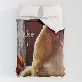 Wake Up! Rooster Comforters
