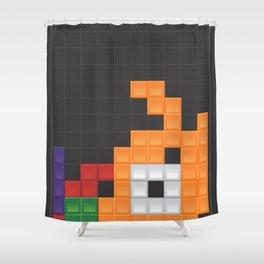 tetri[ri]s Shower Curtain