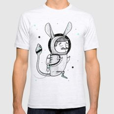 The Jerboa's Dream LARGE Ash Grey Mens Fitted Tee