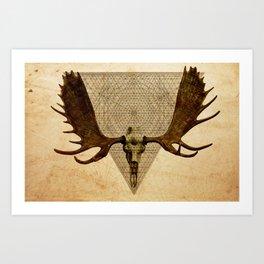 Anteocularis VI Art Print