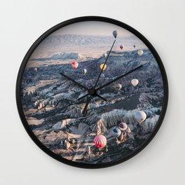 Kapadokya, Turkey #society6 #decor #buyart Wall Clock