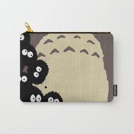 Soot Sprites coming out from studio ghibli Carry-All Pouch