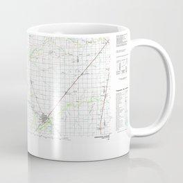 IL Springfield 310138 1985 topographic map Coffee Mug