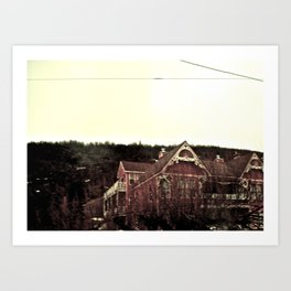 Merely Residential Art Print