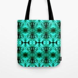 Dandelions Trippinturquoise Tote Bag