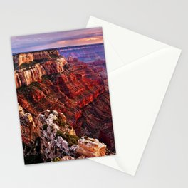 Sunrise at the Grand Canyon Stationery Cards