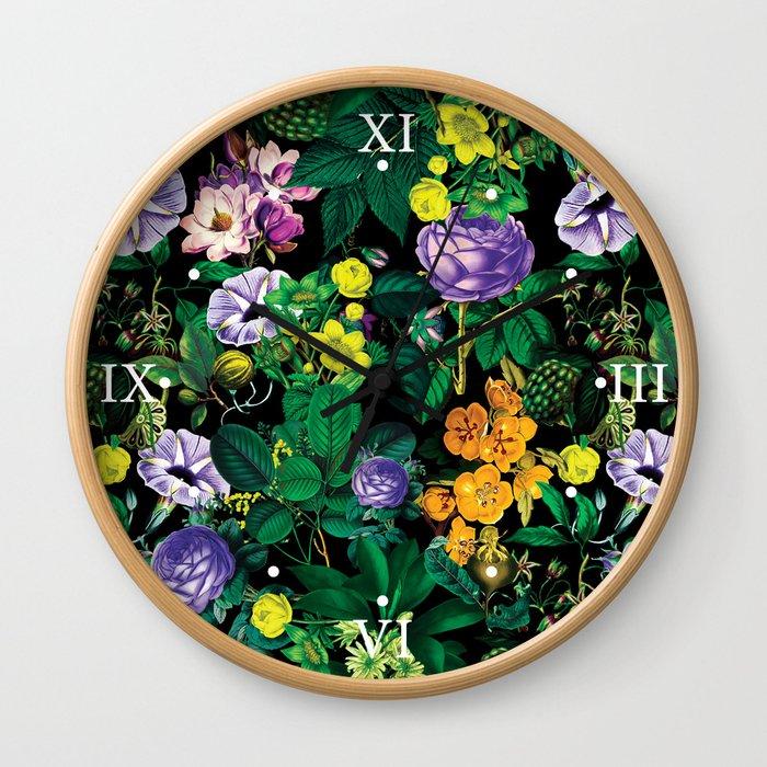 Future Nature II Wall Clock