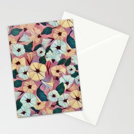 Pretty Petunias Stationery Cards