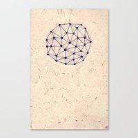 constellation Canvas Prints featuring Constellation by Rosie Chomet