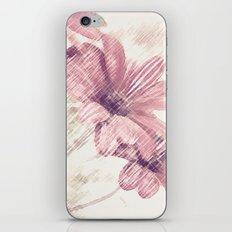 Pink Flowers iPhone & iPod Skin