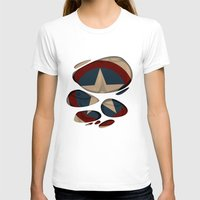 captain silva T-shirts featuring CAPTAIN by karakalemustadi