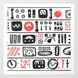 Mission Control Art Print