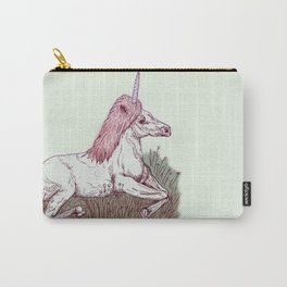 The Resting Unicorn Carry-All Pouch