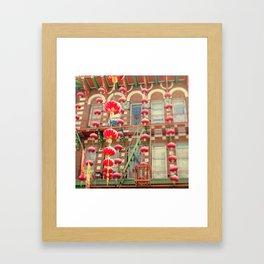 Chinatown III (San Francisco) Framed Art Print