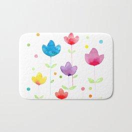 Flowers and joy Bath Mat