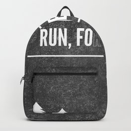 Ru, Fo(r)rest, Run! Backpack