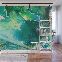 Environmental Importance, Deep Sea Water Bubbles Wall Mural