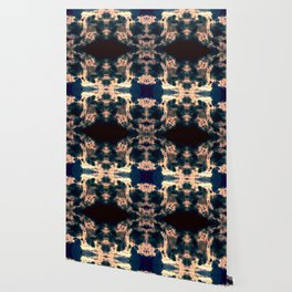 Blue Bison Bliss Wallpaper