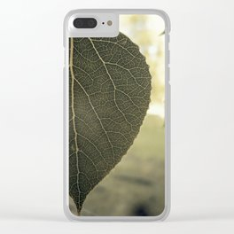 Veins Clear iPhone Case